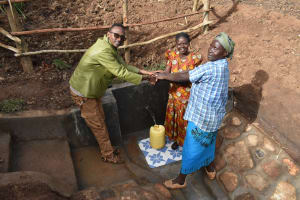 The Water Project: Ataku Community, Ngache Spring -  Handing Over Ceremony