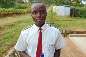 The Water Project: Dr. Gimose Secondary School -  Bynum Savatia