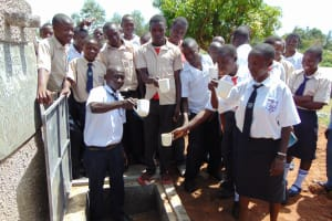 The Water Project: Imanga Secondary School -  Drink Up