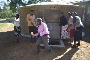 The Water Project: Eshiakhulo Primary School -  Teachers Join The Fun