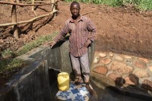 The Water Project: Ataku Community, Ngache Spring -  Pure Satisfaction
