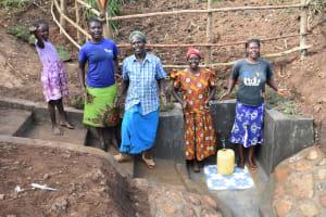 The Water Project: Ataku Community, Ngache Spring -  Cheers Of Joy