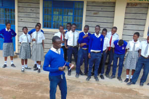 The Water Project: Dr. Gimose Secondary School -  Dental Hygiene Training
