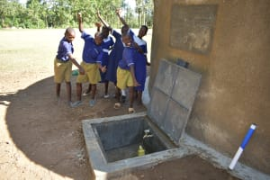 The Water Project: Eshiakhulo Primary School -  Filling Up