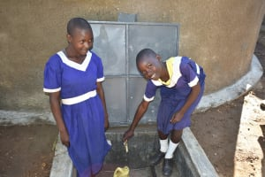 The Water Project: Eshiakhulo Primary School -  Happy Faces