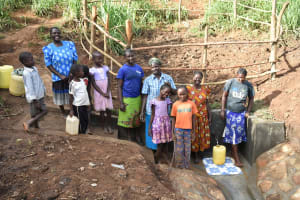 The Water Project: Ataku Community, Ngache Spring -  Happy Faces