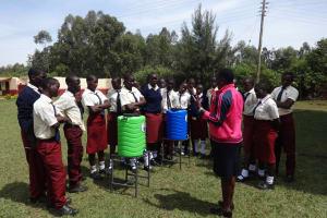 The Water Project: St. Theresa's Bumini High School -  Handwashing Training