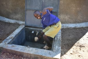 The Water Project: Eshiakhulo Primary School -  Flowing Water