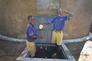 The Water Project: Eshiakhulo Primary School -  W Salute For Water