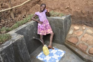 The Water Project: Ataku Community, Ngache Spring -  W For Water