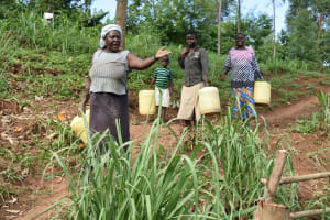The Water Project: Ataku Community, Ngache Spring -  Now This Is What I Am Talking About