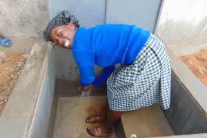The Water Project: Dr. Gimose Secondary School -  Flowing Water