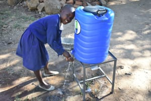 The Water Project: Eshiakhulo Primary School -  Washing Hands