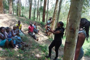 The Water Project: Emukangu Community, Okhaso Spring -  Handwashing Demonstration