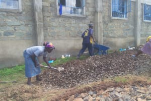 The Water Project: Dr. Gimose Secondary School -  Everyone Helps