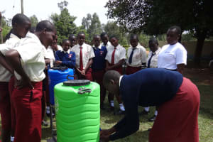 The Water Project: St. Theresa's Bumini High School -  Handwashing Practice