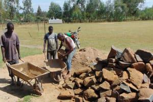 The Water Project: Bululwe Secondary School -  Teamwork