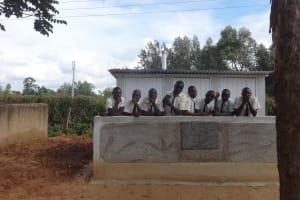 The Water Project: St. Theresa's Bumini High School -  Completed Boys Latrines
