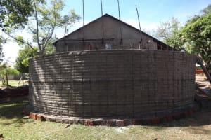 The Water Project: St. Theresa's Bumini High School -  Tank Walls