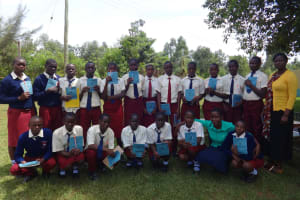 The Water Project: St. Theresa's Bumini High School -  Training Complete