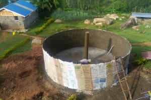 The Water Project: Dr. Gimose Secondary School -  Looking Down