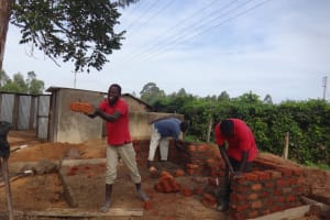 The Water Project: St. Theresa's Bumini High School -  Latrine Construction