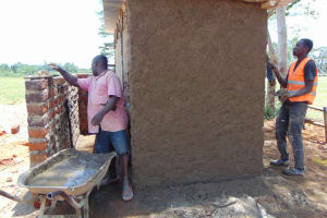 The Water Project: Imanga Secondary School -  Latrine Construction
