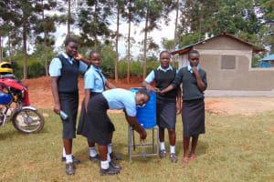 The Water Project: Hombala Secondary School -  Handwashing