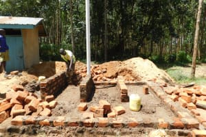 The Water Project: Eshiakhulo Primary School -  Latrine Construction