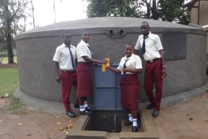The Water Project: St. Theresa's Bumini High School -  Cheers To Water