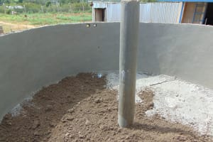 The Water Project: Imanga Secondary School -  Inside The Tank