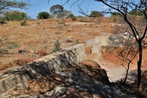 The Water Project: Kathonzweni Community -  Complete Dam