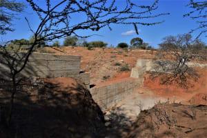 The Water Project: Kathonzweni Community -  New Dam