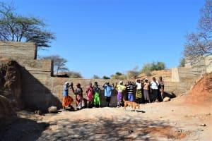 The Water Project: Kathonzweni Community -  Shg Members At The Dam