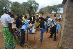 The Water Project: Kathonzweni Community -  Tippy Tap Construction