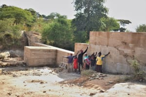 The Water Project: Mwau Community -  Celebrating The Completed Dam