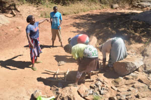 The Water Project:  Gathering Rocks