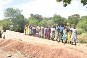 The Water Project:  Standing On The Completed Dam