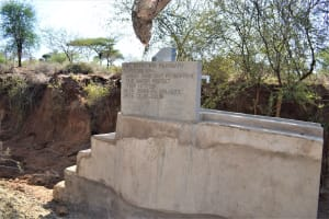 The Water Project: Kathonzweni Community A -  Completed Well