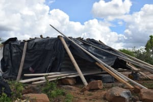 The Water Project: Kathonzweni Community A -  Construction Materials