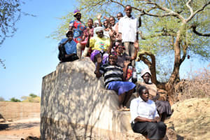 The Water Project: Kathonzweni Community A -  Shg Members At The Well