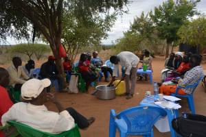 The Water Project: Kathonzweni Community A -  Soapmaking