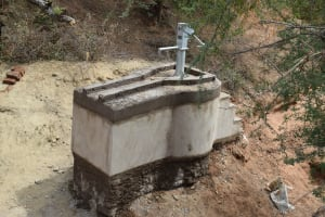 The Water Project: Kathonzweni Community A -  Well Construction