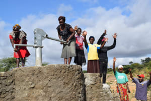 The Water Project: Mwau Community A -  Celebrating The Well