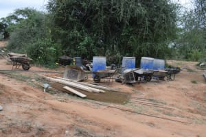 The Water Project: Mwau Community A -  Materials For Well