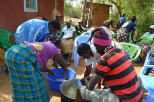 The Water Project: Mwau Community A -  Soapmaking