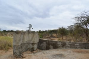 The Water Project: Mwau Community A -  Well