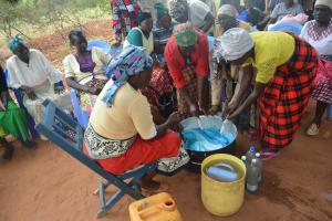 The Water Project: Kathungutu Community A -  Soapmaking