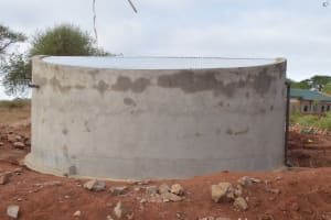The Water Project: Kituluni Primary School -  Complete Tank