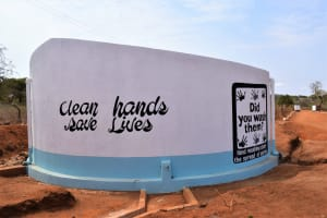 The Water Project: Kituluni Primary School -  Completed Tank